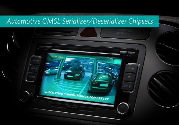 SerDes chipsets serialise data, cut cabling, in automotive