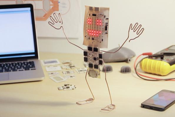 Printoo: printed electronics made Arduino-compatible