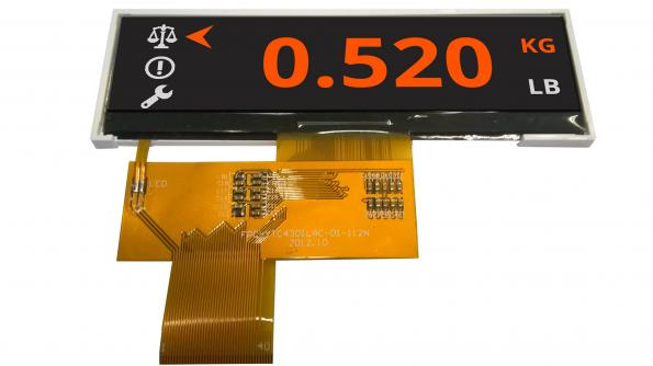 TFT display modules in custom shapes, and low volumes | eeNews Embedded