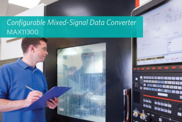 First configurable data converter delivers flexible signal handling
