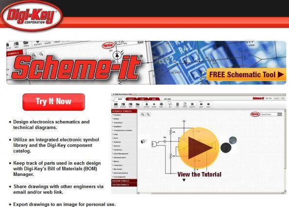 Digi-Key upgrades its Free Scheme-it circuit design tool