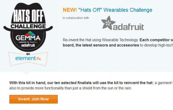 'Hats Off' Challenge promotes head-worn electronic designs