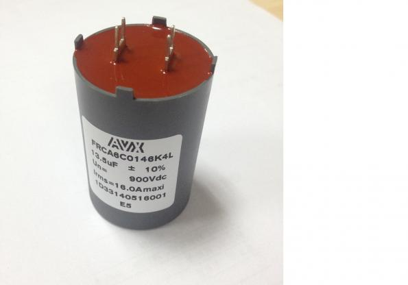 DC-link film capacitor series for filters, inverters and drives