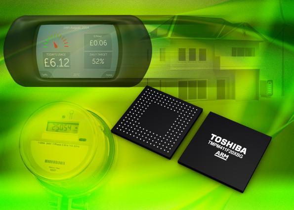 Toshiba targets smart meters with new ARM Cortex-M4F MCU