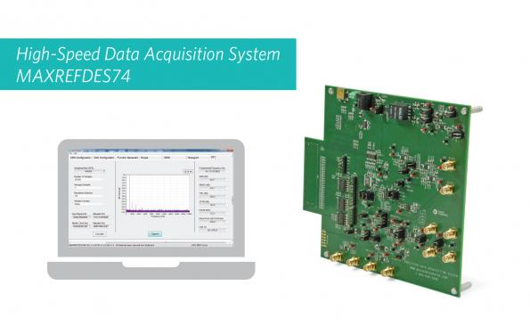 Reference Design Links Analogue And Fpga For High Speed Precision Data Acquisition