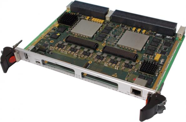 6U VPX FPGA processing board hosts Freescale, Xilinx silicon