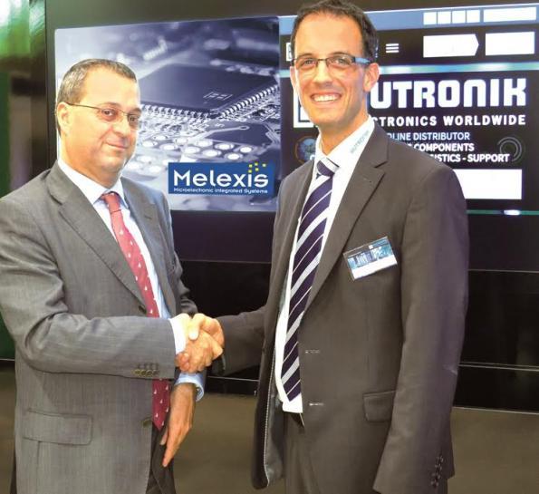 Rutronik now global distributor for Melexis
