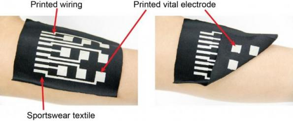Conductive ink turns textiles into stretchable electronics