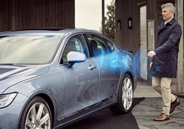 Volvo introduces virtual car key