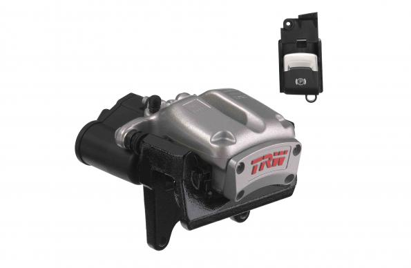 TRW brings Electric Park Brake to front axle