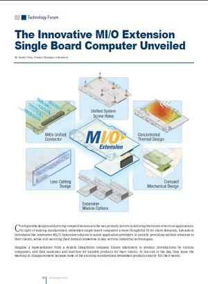 The Innovative MI/O Extension Single Board Computer Unveiled