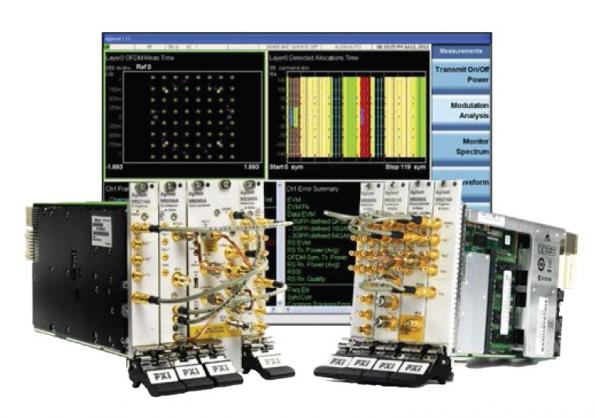 Measurement applications across multiple test platforms