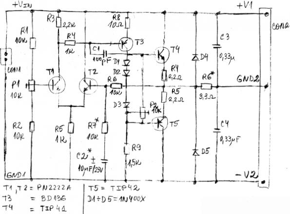 Using audio amplifiers for voltage splitting: Part 2