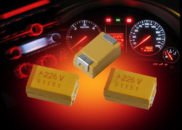 AVX extends SMD tantalum capacitor range for longer