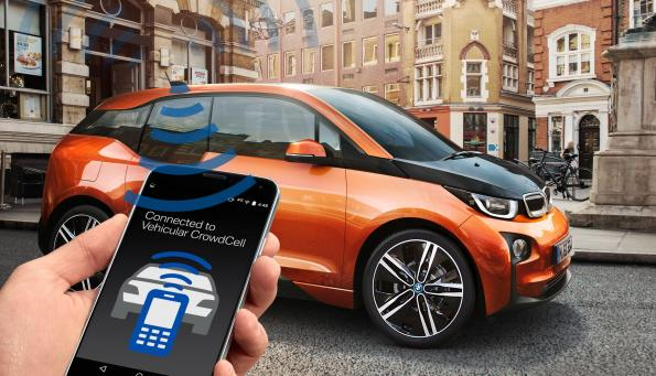 Femtocells get mobile in the car and become CrowdCells