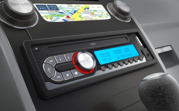Intelligent car audio distribution