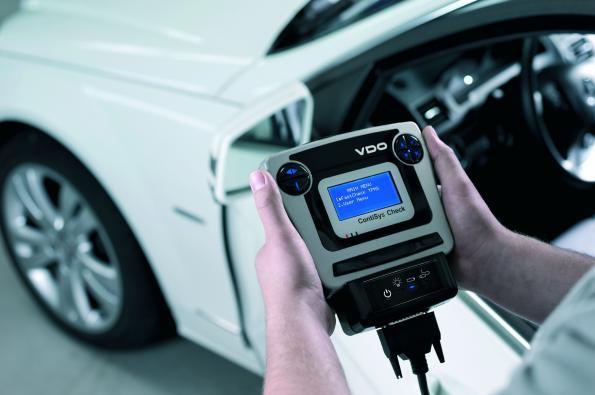 VDO ContiSys Check reads TPMS data