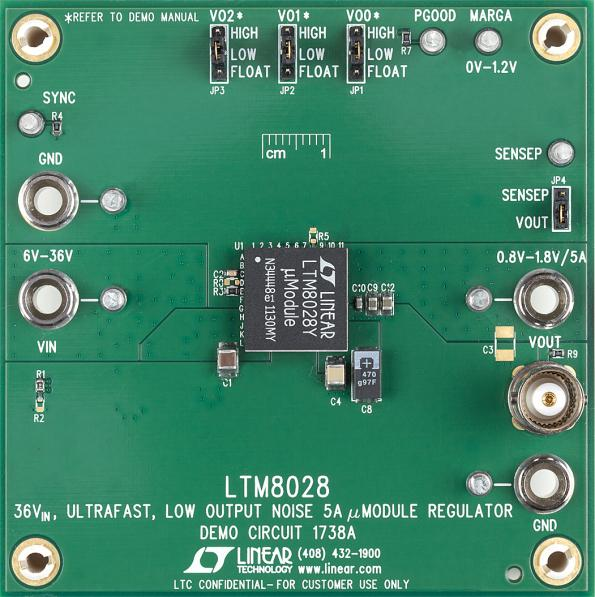 Low output noise regulator for data acquisition