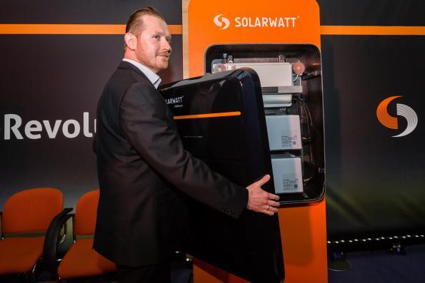 Solarwatt révolutionne le stockage de l'énergie