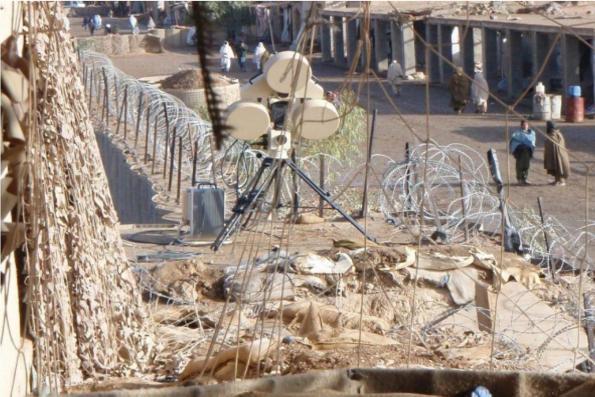 Une caméra à technologie radar pour détecter rapidement les risques d'attentats!