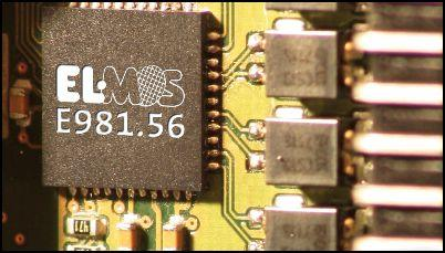 Elmos FlexRay star coupler meets EPL V3 0 specs