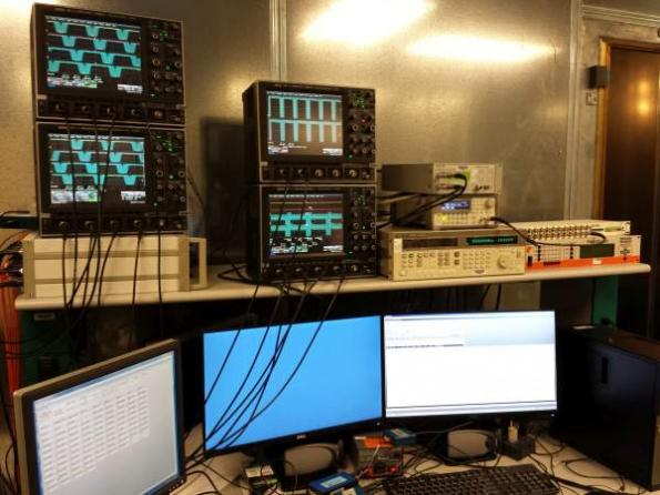 Oscilloscopes detect ECU disturbances from EMI