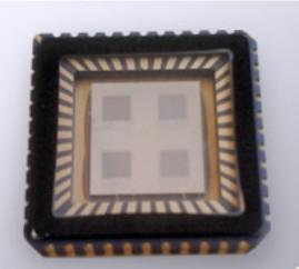 Single-chip solar energy harvester operates wireless mesh nodes