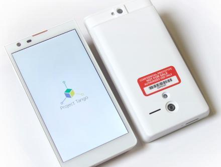 Google prototypes depth-sensing mobile phone