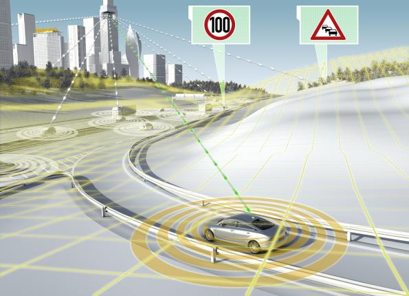 Continental, HERE jointly drive towards the electronic horizon