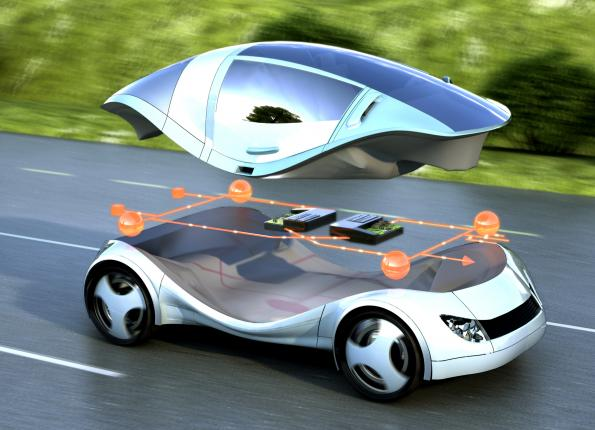 Research project sketches centralized computing architecture for e-cars