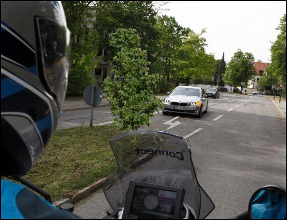 Intersection assistant systems make use of car-to-x communications