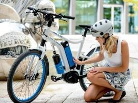 Un vélo électrique alimenté par une pile à combustible