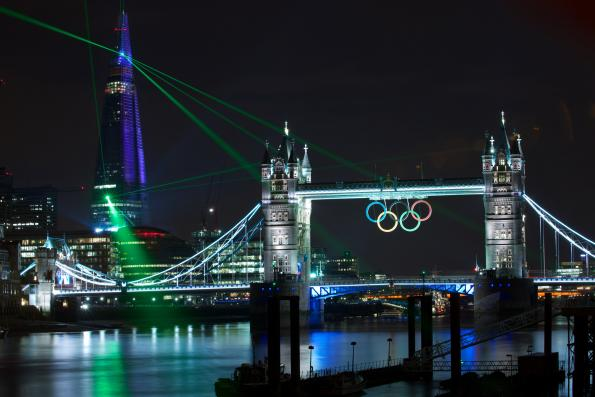 GE lights up the Olympics in London