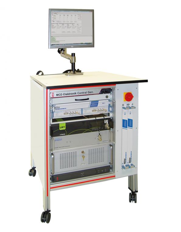 Signal generator facilitates head unit tests