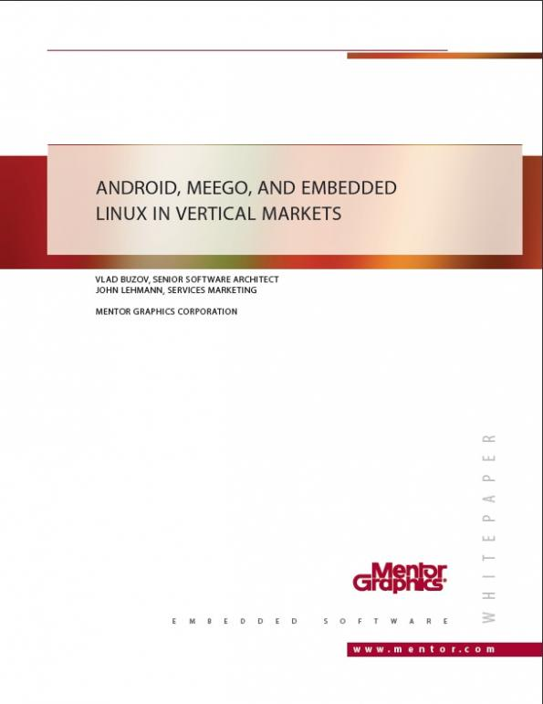 Android Meego And Embedded Linux In Vertical Markets Eenews Europe