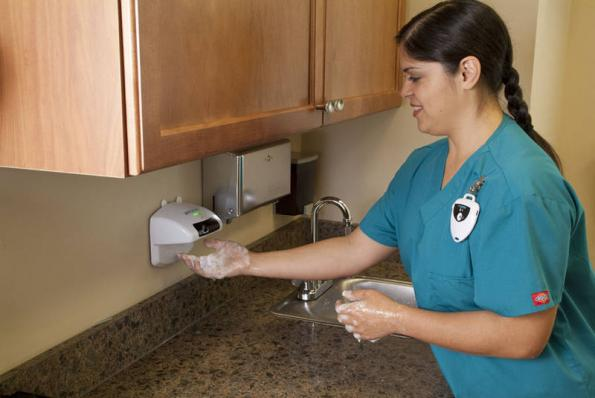 Low Power Rf Technology Enables Intelligent Hand Hygiene