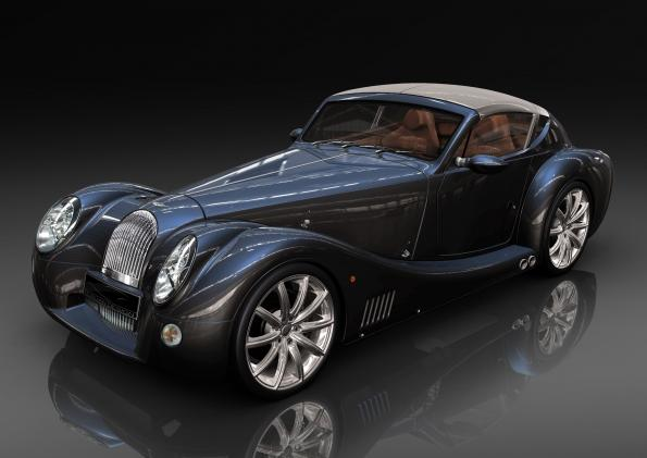 Morgan Zytek Combine Electric Drive With Manual Transmission