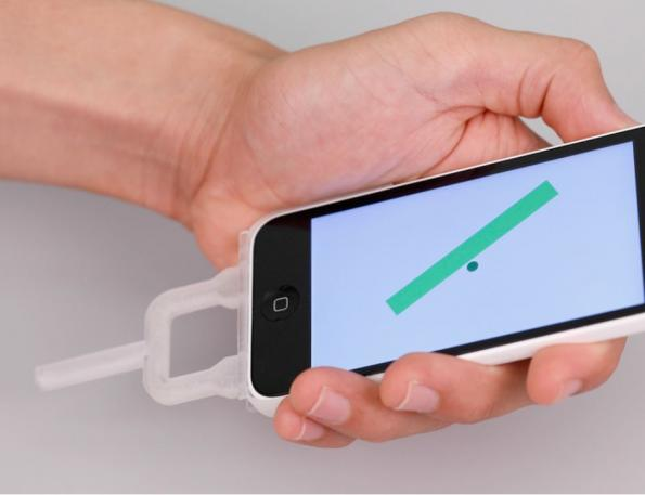 3D-printed plastic smartphone plug-ins replace complex analog circuits