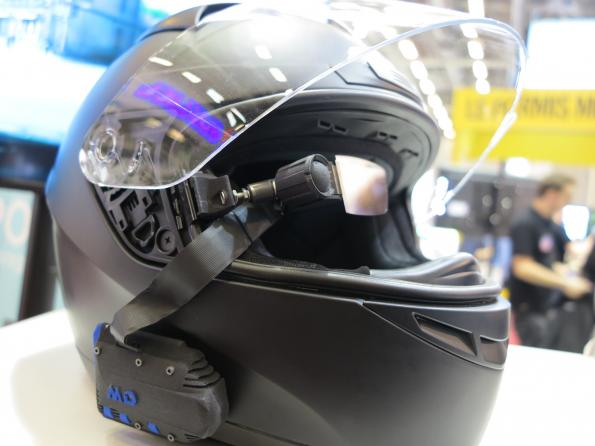 French startup plugs smartglasses into bikers' helmets