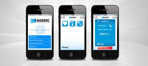 Nordic Semiconductor launches Demo App for Bluetooth low