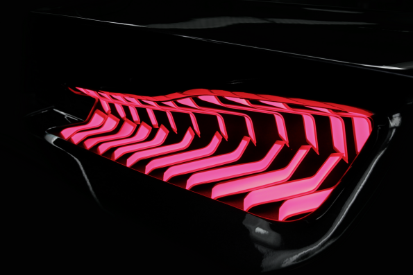 Hella creates eye-catcher with curved OLEDs