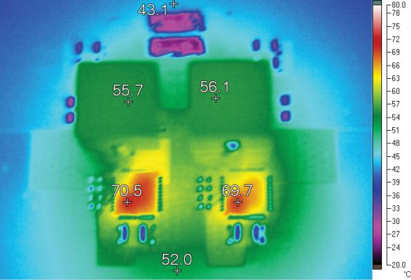 Dual Phase Buck Controller Drives High Density 1.2V/60A Supply with Sub-Milliohm DCR Sensing