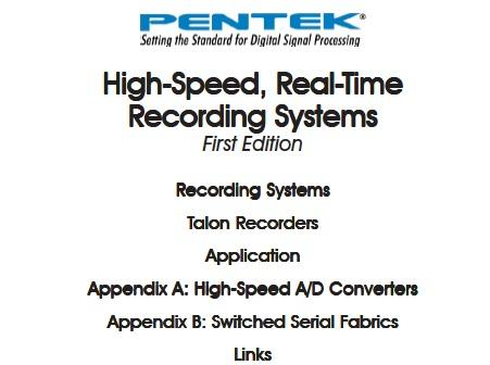 New! High-Speed, Real-Time Recording Systems Handbook