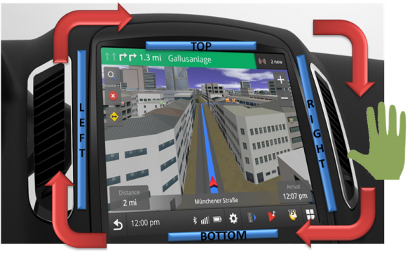 Proximity Gesture Applications In Automotive HMI