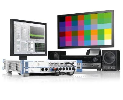 HDMI measurements with the R&S®UPP audio analyzer