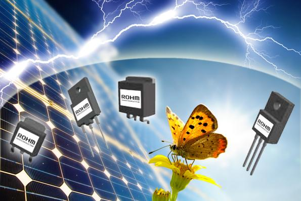 ROHM releases high speed switching, high voltage resistance