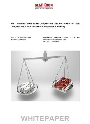 IGBT Modules: Data Sheet Comparisons and the Pitfalls of such