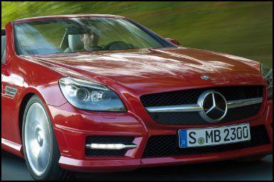 Daimler SLK - the electronic roadster