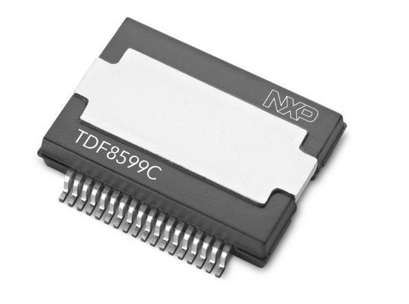 Class-D amplifier for high-end automotive infotainment