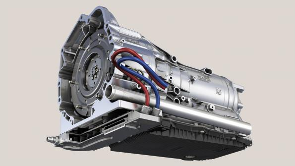 ZF, BMW, Infineon develop hybrid transmission with built-on power electronics